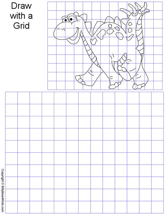 Printables Grid Art Worksheets art worksheets and on pinterest grid gridart gif 42315 bytes