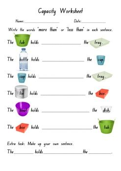 math worksheet : 1000 ideas about capacity activities on pinterest  measurement  : Math Measurements Worksheets