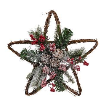 Floral Twig Star