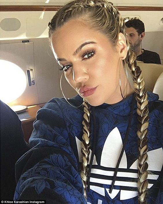 The look: Ruby's braids have become the fashion trend for hair this season as seen on Kim and Khloe Kardashian as well as Kylie Jenner