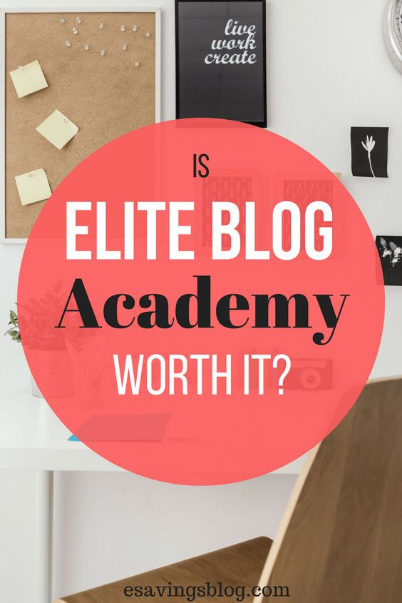 Is Elite Blog Academy Worth it? Check out my experience.