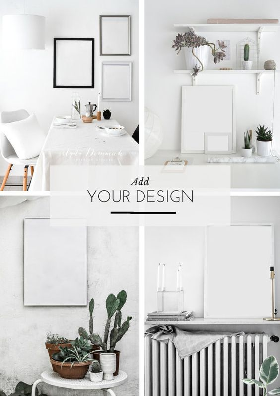 Styled Mockup Photography Art and Plants by PASSIONSHAKE on Etsy