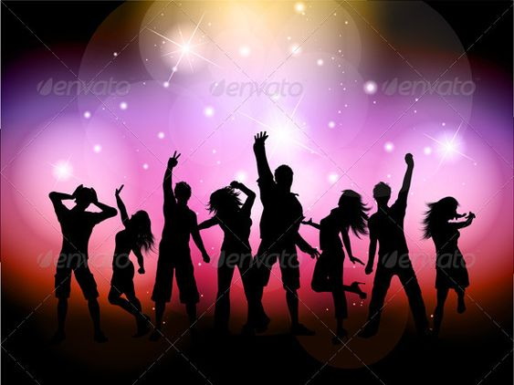Silhouette Dance Music Abstract Background: Pinterest • The World's Catalog Of Ideas