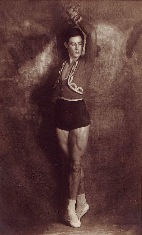 Ballet dancer Anton Dolin