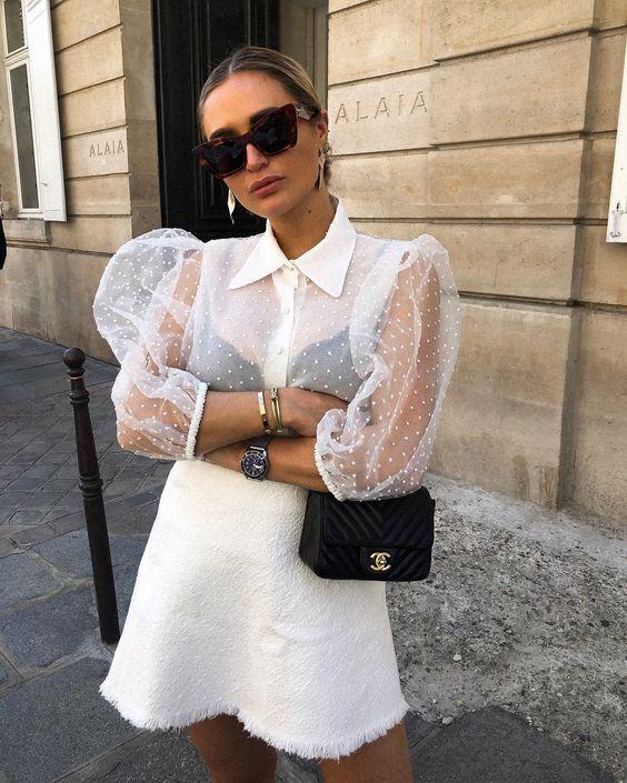 Tendência Organza | Looks estilosos, Looks, Moda