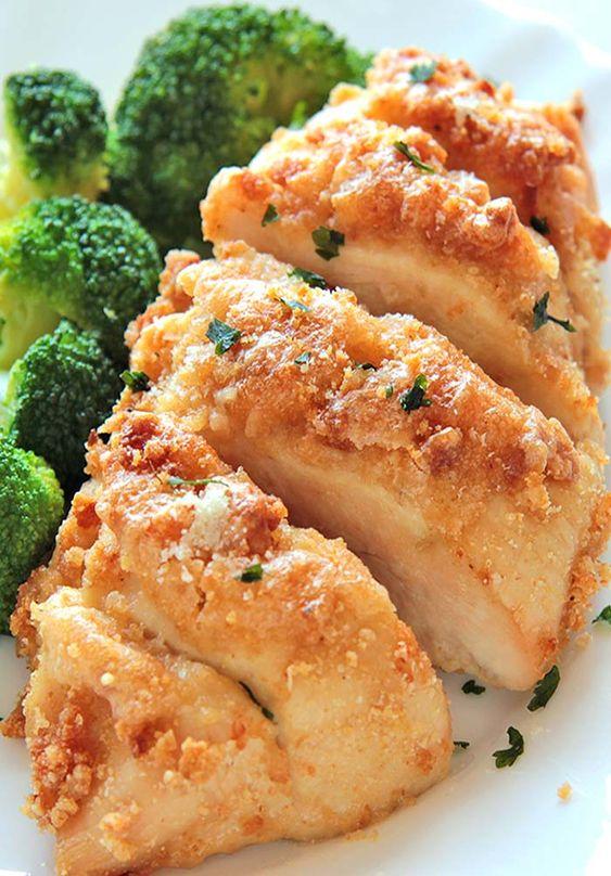 Baked Garlic Parmesan Chicken | Recipe | Baked Garlic Parmesan Chicken ...
