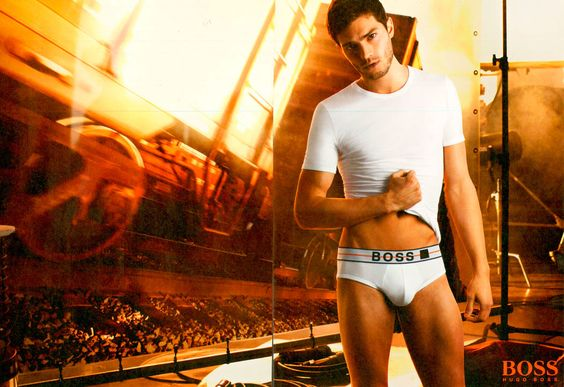 Dornan in his ~*tIGhTY-wHItiEs*~ for Hugo Boss, 2006.  -Cosmopolitan.com