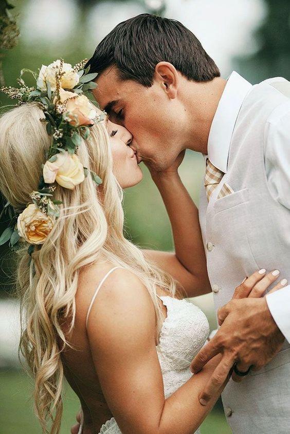 romantic photos wedding day 1