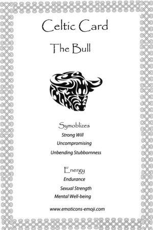 Celtic Bull Cards