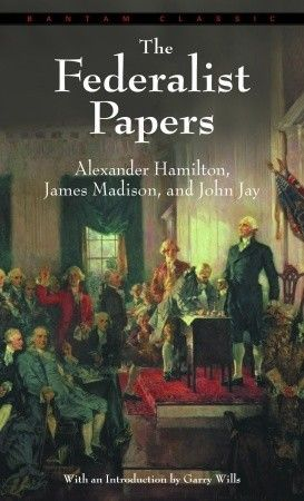 The Federalist Papers by Alexander Hamilton, you must read this to understand The American Constitution.: