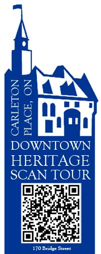 Take the Downtown Heritage Scan Tour in Carleton Place, Ontario