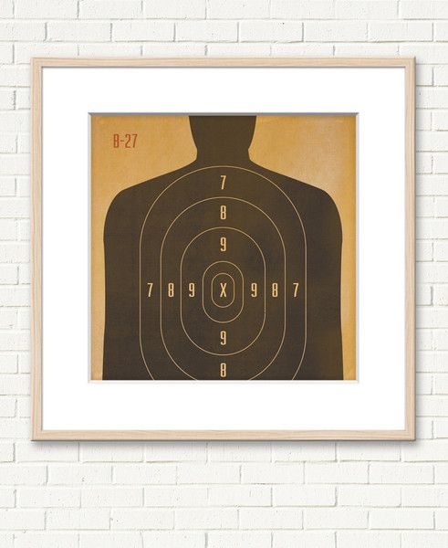 title shooting target 1 will frame my own in a poster frame from michaels