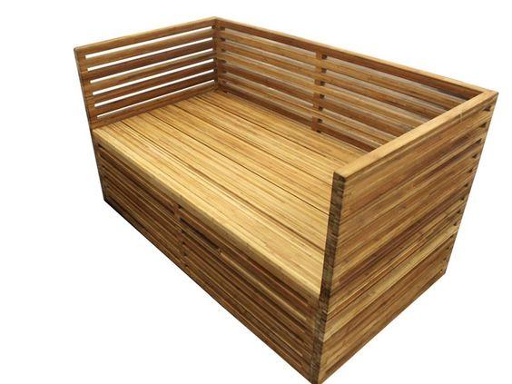 sof plazas en bamb para jardn kul gar coleccin muebles de jardn by kul