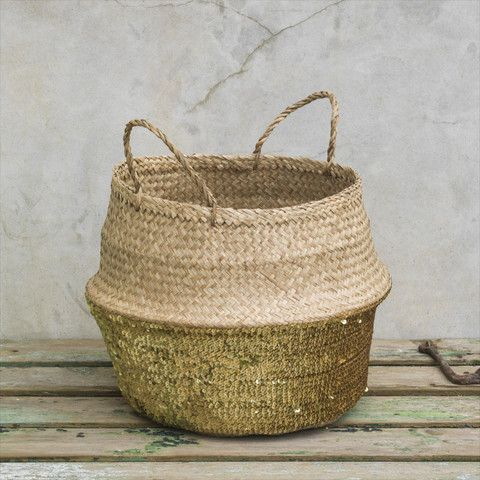 Sequin Storage Basket: