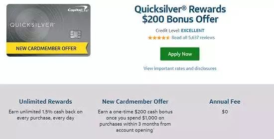 Capital One Quicksilver 24 Month Interest Free Credit Card In 2021 Free Credit Card Rewards Credit Cards Travel Credit Cards