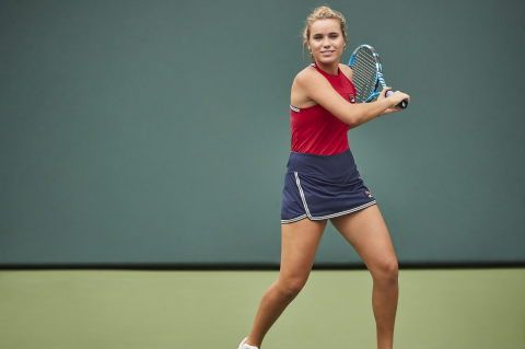 Sofia Kenin Karolina Pliskova To Debut Fila S Revamped Heritage Classics At Us Open Women S Tennis Blog In 2020 Tennis Fashion Fila Outfit Sport Outfits