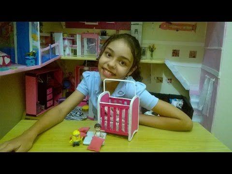 Como fazer uma maquina de custura para Barbie - YouTube