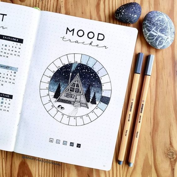 Mood tracker neige