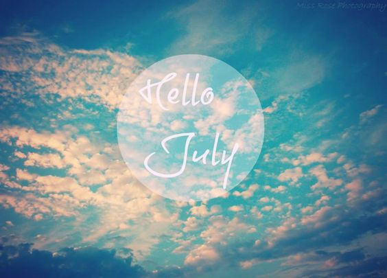 hello july,clouds