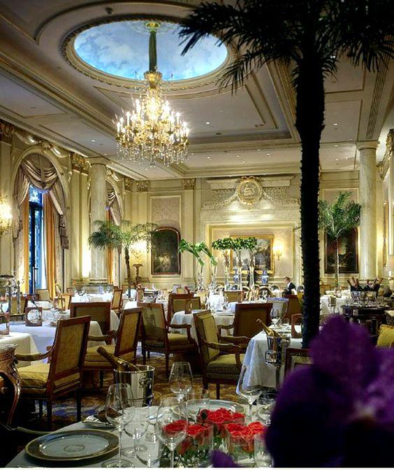 hotel george v, paris - crème de la crème | design, tables and hotels, Innenarchitektur ideen
