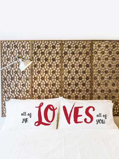 One Bella Casa All of Me Loves All of You Pillowcases (Set of 2)