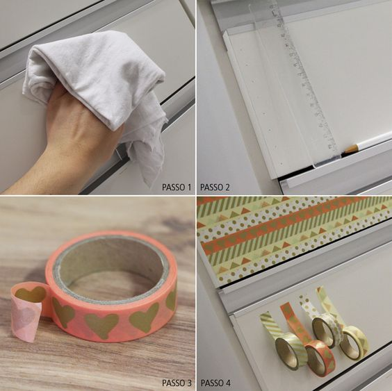DIY: Como decorar com washi tape!