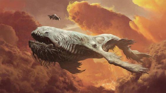 Teaser The Leviathan: Memburu Makhluk Raksasa di Lautan Awan
