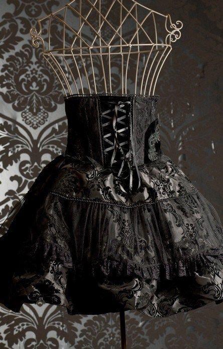 Rock Skirt Dracula Clothing Brocade Skirt Gothic Victorian Steampunk Wild West