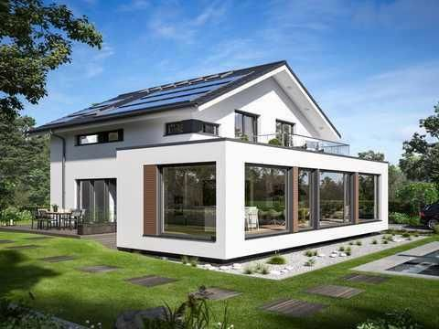 Bien Zenker Concept M 210 Gunzburg In 2020 House Extension Design Modern House Exterior Architecture House