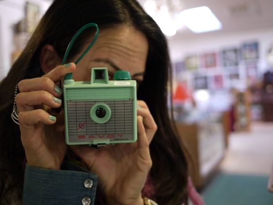 teal camera. yes!