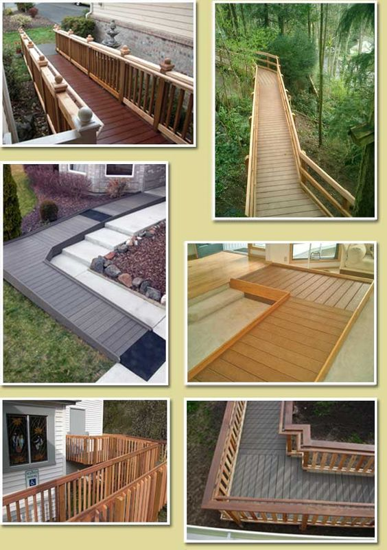 Attractive Wood Ramps