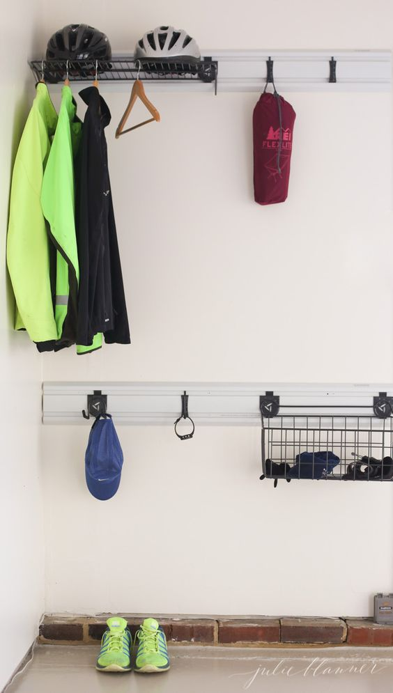 Organize your workout gear with an outdoor closet | garage storage and organization