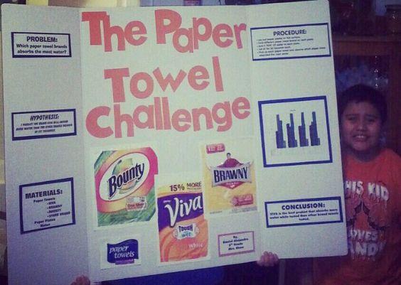 Paper towel research