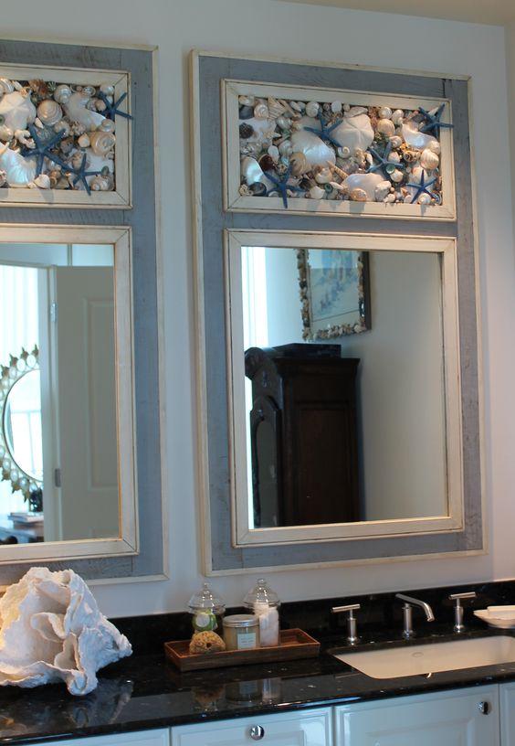 Seashell Mirrors By My Honeypickles Shells Pinterest