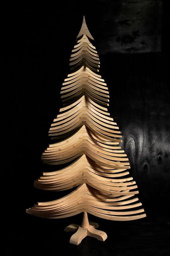 original Bellissimo Nono est un sapin de Noel écologique en bois