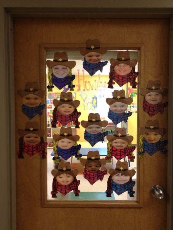 Western Theme Door Western Classroom Pinterest