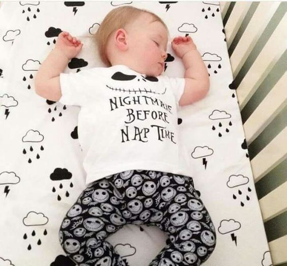 Nightmare before nap time outfit!