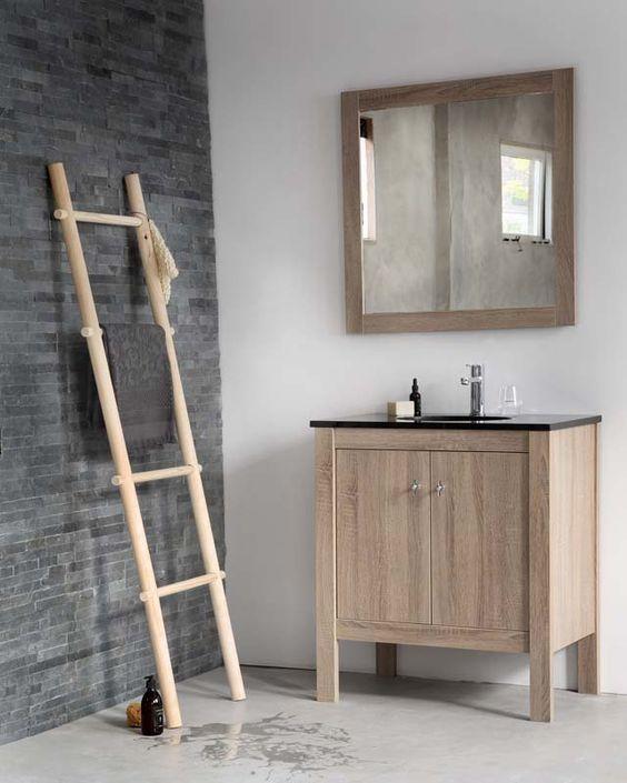 Ladder Voor Badkamer ~   voor een speels effect in de badkamer #karwei #diy #wooninspiratie