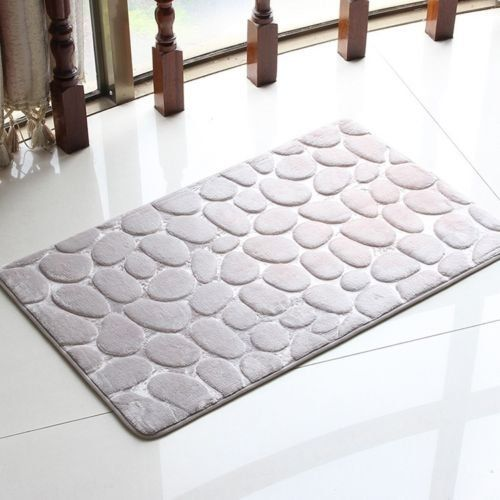Bath Rugs Memory Foam Bath Mat New Non Slip Living Room Floor Mat