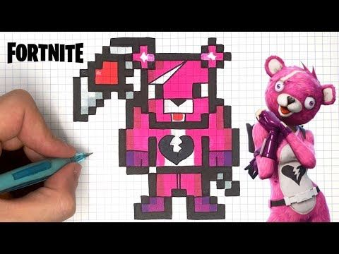 Dessin Fortnite Youtube Pixel Art Minecraft Pixel Art