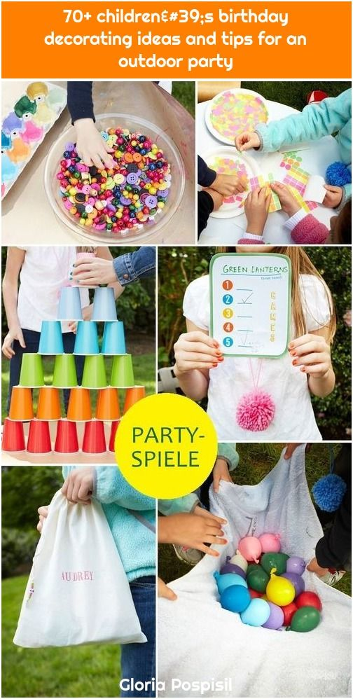 1 70 Children S Birthday Decorating Ideas And Tips For An