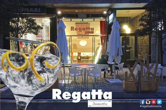 Es viernes noche en #Donostia #SanSebastian Sal a cenar y a tomar una copa. Te lo has ganado La mejor cena y el mejor #gintonic como siempre en el #RegattaDonostia c/Hondarribia 20 bajo en pleno centro