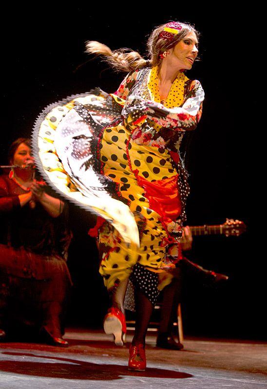 Zaira Santos en Flamencas de Extremadura