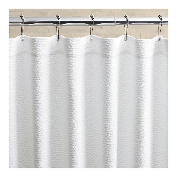 Crate And Barrel Pebble Matelasse Shower Curtain Curtain Menzilperde Net