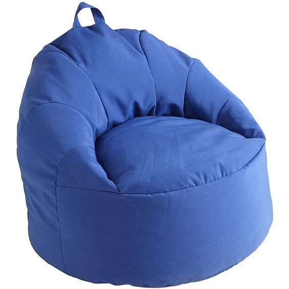 Pier 1 Imports Blue Mellow Out Bean Bag Lounger ($149) ❤ liked on Polyvore featuring home, furniture, chairs, blue, blue bean bag, outdoor beanbag chair, pier 1 imports, outside chairs e blue outdoor chairs
