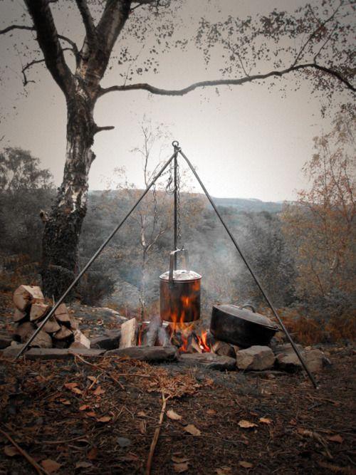 DIY outdoor cookery