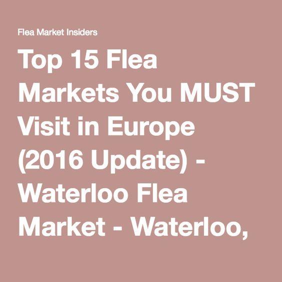 Top 15 Flea Markets You MUST Visit in Europe (2016 Update) - Waterloo Flea Market - Waterloo, Belgium - Flea Market InsidersFlea Market Insiders | Page 7