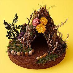 Crafty Girls Rock: Stone Fairy House