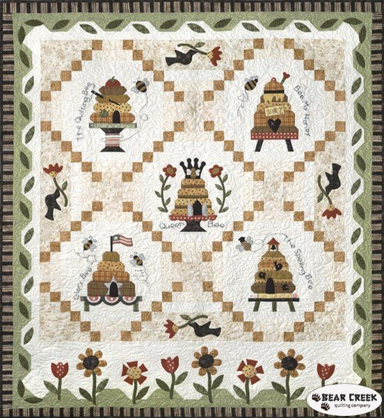 Honey Bee Lane Quilt Kit