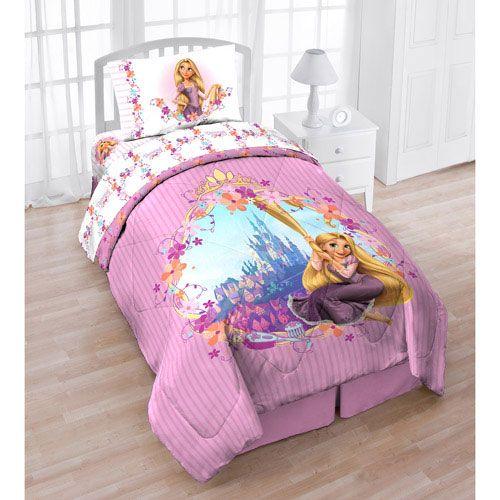 Disney Baby Bedding Tangled Rapunzel 4 Piece Toddler Set
